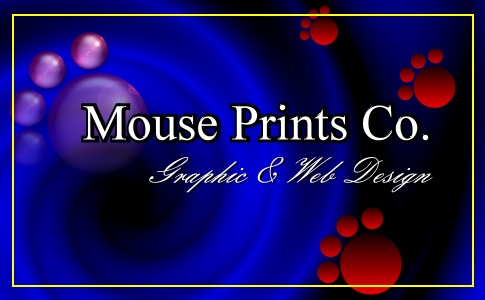 Mouse Prints Graphic Design